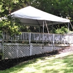 20'x20′ Frame Tent