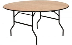 60 in. Round Table