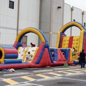 80′ Obstacle Course