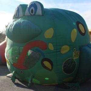 Balloon Typhoon Frog