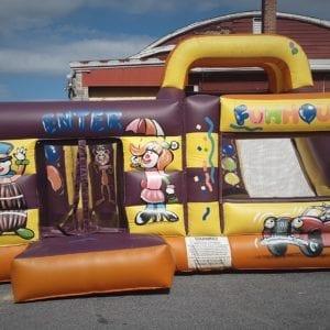 Circus Bounce Slide Combo