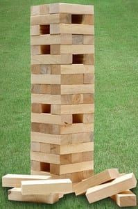 Giant Tumbling Tower