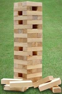Giant Tumbling Tower