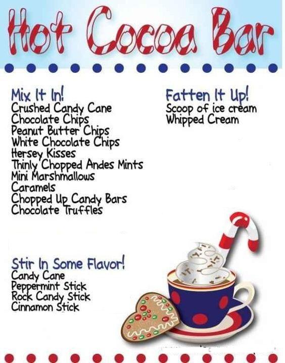 Hot Chocolate Bar19