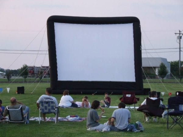 Jumbotron Movie Night