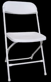 White Folding Chair